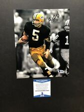 Paul Hornung autographed signed 8x10 photo Beckett BAS COA Green Bay Packers NFL