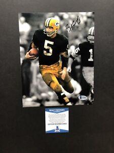 Paul Hornung autographed signed 8x10 photo Beckett BAS COA Green Bay Packers NFL