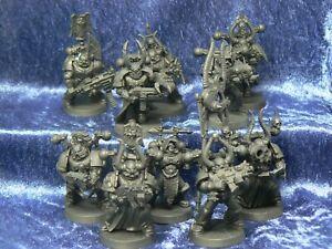 10x Dark Angels Space Marines Squad Unique Fallen Chaos Squad