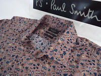 """PAUL SMITH Mens Shirt 🌍 Size 17"""" (CHEST 46"""") 🌎RRP £95+📮FLORAL LIBERTY STYLE"""