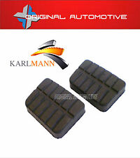 fits NISSAN NAVARA 1986-2006 D21 D22 BRAKE & CLUTCH RUBBER PEDAL PAD KIT 2PCES