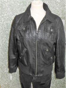 180 L50 GIPSY Damen Leder Jacke Gr. XL Lederjacke schwarz Damenjacke Blouson