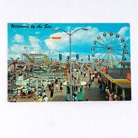 Wildwood by the Sea Marine Pier New Jersey 1965 Postcard