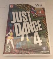 JUST DANCE 4 (Nintendo Wii, 2012) NEW Factory SEALED