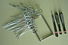 15 PC CIRCUMCISION VASECTOMY SET, GERMAN STAINLESS