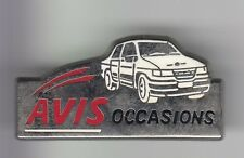 RARE PINS PIN'S .. AUTO CAR LOCATION RENTAL LEASE AVIS OCCASIONS VENTE  V.O ~C6