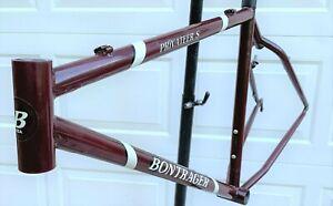 "Vintage Bontrager Privateer frame mtb mountain bike 1997 large steel race xc 26"""