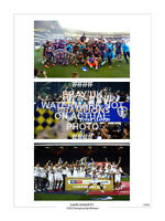 LARGE 2020 CHAMPIONS LIMITED EDITION PRINT PHOTO LEEDS UNITED TROPHY