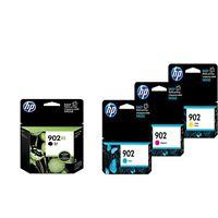 2018 4-PACK HP GENUINE 902XL Black & 902 Color Ink OfficeJet Pro 6975 6978 6979