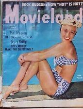 revue magazine cinéma Hollywood MOVIELAND march 1955  JANE POWELL