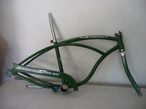 1964 Schwinn Stingray-Super Deluxe Frame/Chain-guard/Fork/Seat Post & Clamp