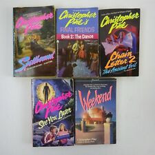 Christopher Pike Horror Paperback lot of 5