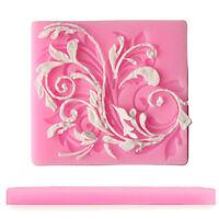 Grandes Mariposa Rosa Chicas Cumpleaños Pastel Molde De Silicona Molde Pan Tin Jelly