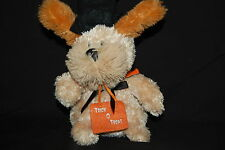 Halloween Witch Hat Trick O Treat Sing Dance Puppy Dog Tan Soft Plush Toy Video