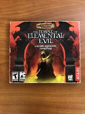 The Temple of Elemental Evil PC Game 2003 Dungeons & Dragons Greyhawk Adventure