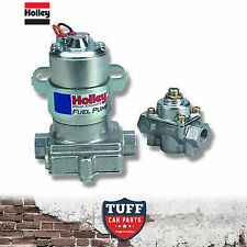 Holley Blue 110 GPH Electric Fuel Pump with Fuel Pressure Regulator 12-802-1 New