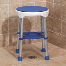 Compact Swivel Bathtub & Shower Stool - Bathroom Tub Safety Sturdy Stepstool