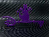 Disney Figment The Dragon Key 3D Print Custom DIY - Purple