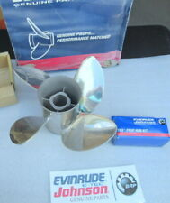 Evinrude Johnson OMC 763948 Cyclone Propeller OEM New Factory Boat Parts