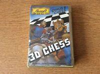 3d chess Amstrad Game On Cassette For Amstrad 464/664/6128