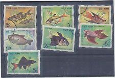 Briefmarken - Fische - Vietnam + DDR