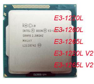 Intel Xeon e3-1220l e3-1260l e3-1265l e3-1220l v2 e3-1265l v2 CPU LGA 1155