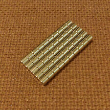 50 N52 Neodymium Cylindrical (1/8 x 1/8) inches Cylinder/Disc Magnets.