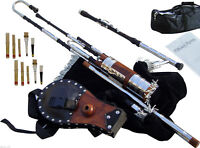Irish Uilleann Pipes Half Set Blackwood Bagpipes (UpGradeAble) to Full Set