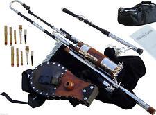 Irish Uilleann Pipes Half Set Blackwood Bagpipes (UpGradeAble) to Full Set