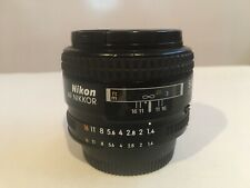 Nikon NIKKOR 50mm f/1.4 AF-S M/A Lens in Perfect Condition