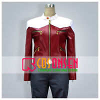 Cosonsen Tiger And Bunny Barnaby Brooks Jr Cosplay Costume Red Blue 4 Pcs Set