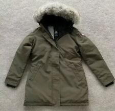 Canada Goose Ladies Victoria Military Green Parka Coat Slim Fit Large New 🇨🇦