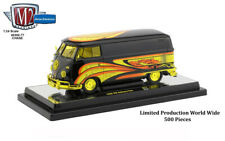 """Chase 1960 VOLKSWAGEN DELIVERY VAN """"KELLY CRAZY PAINTER"""" 1/24 BY M2 40300-77 B"""