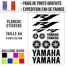 Planche de stickers / autocollants Moto - Yamaha R1