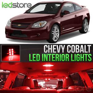 2005-2010 Chevrolet Cobalt Red LED Lights Interior Kit