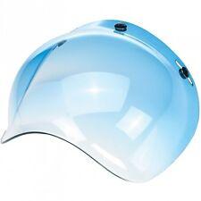 Biltwell Bubble Visiera, Blu oscurato, per jethelme/anti zoccolo!