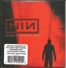 NINE INCH NAILS Live Beside BLU RAY PROMO SAMPLER SEALED 2007 LIMITED INTR12035