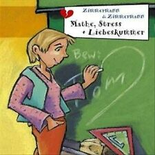 """FRECHE M""""DCHEN - MATHE STRESS + LIEBESKUMMER NEW CD"""