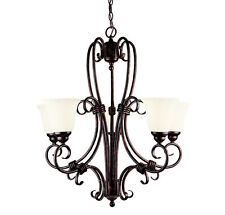 GZ-1-2887-5-56 Savoy House Brandywine 5 Light Chandelier New Tortoise shell