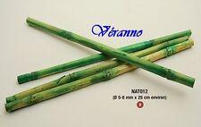 12 Bâtons de bambou décoration 25 cm. Décoration de mariage