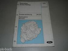 Service Training Produkt Einführung Ford Explorer 4,0 V6 Motor Regelung, 02/1995