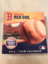 Boston Red Sox Desk Calendar. 2013. World Series year. Brand New