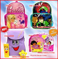 Cartoon Backpack new DORA THE EXPLORER BEN 10 BARBIE NEW shoulderbag school kids