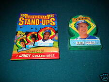 1991 Topps Stand Ups TEST ISSUE - MARK GRACE - Cubs