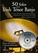 LEARN 50 SOLOS FOR IRISH TENOR BANJO BOOK + CD EDITION 11AWAL-1371CD