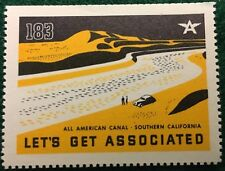 #183 All American Canal - So. Calif. - Let's Get Associated, Flying A Gas & Oil