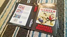 BOX ART ONLY Bonanza Brothers Original Sega Genesis Case Sleeve OEM
