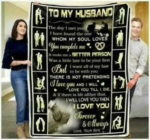 To My Husband - Better Person Sofa - I Love You Blanket Printer In US