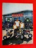 """1972 Honda CT 70 QA 50 MINI TRAIL Original Print Ad 8.5 x 11"""""""