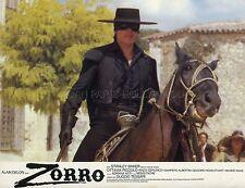 ALAIN DELON ZORRO 1975 VINTAGE LOBBY CARD